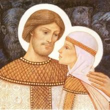 Святые благоверные князья Петр и Феврония