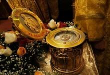 Частица мощей святой Матроны Московской