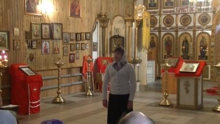 """22 апреля в Храме """"Рождества Христова"""" провели праздник посвященной Пасхи"""
