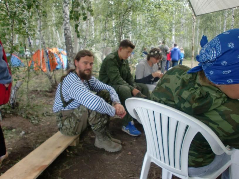 2015 07 10 протоиерей Ярослав Иванов, детский православный лагерь Наследник
