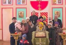 Православное молодёжное общество «Труба» в гостях в храме села Багаряк, январь 2016 года