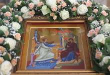 Благовещение Пресвятой Богородицы. фото