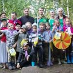 Детско–юношеский палаточный лагерь «Наследник», озеро Увильды, 2015г