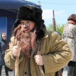 Шуточный дедушка, Фестиваль жен-мироносиц, город Челябинск, 15 мая 2016 года