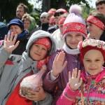 Дети, Фестиваль жен-мироносиц, город Челябинск, 15 мая 2016 года