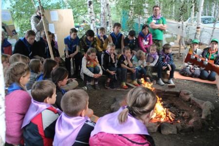 Детско–юношеский палаточный лагерь «Наследник»