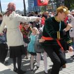 Хороводы на улице, Фестиваль жен-мироносиц, город Челябинск, 15 мая 2016 года