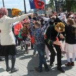 Русские народные игры на улице, Фестиваль жен-мироносиц, город Челябинск, 15 мая 2016 года