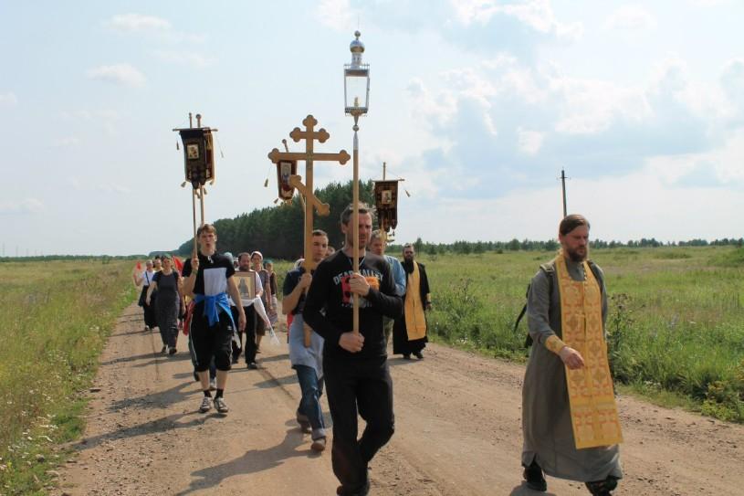 Миссионерский крестный ход