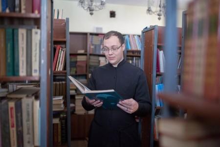Пресс-секретарь Молодежного совета Челябинской епархии Кирилл Белоусов