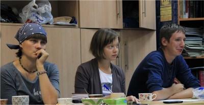 Татьяна Колодяжная (в центре).