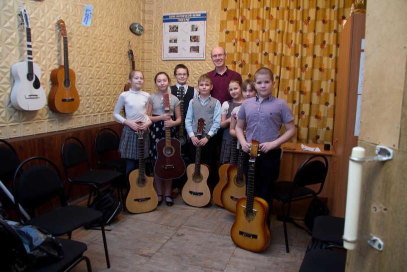 Рафаэль Валитов с учениками