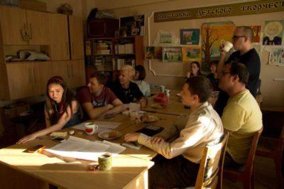 Вечер поэзии Евгения Евтушенко в православном студенческом клубе ПРИЗМА