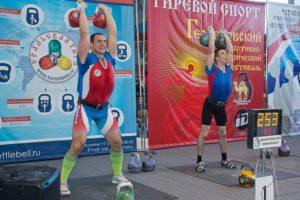 Иван Денисов -заслуженный мастер спорта по гиревому спорту, многократный чемпион и рекордсмен России, Европы и Мира.