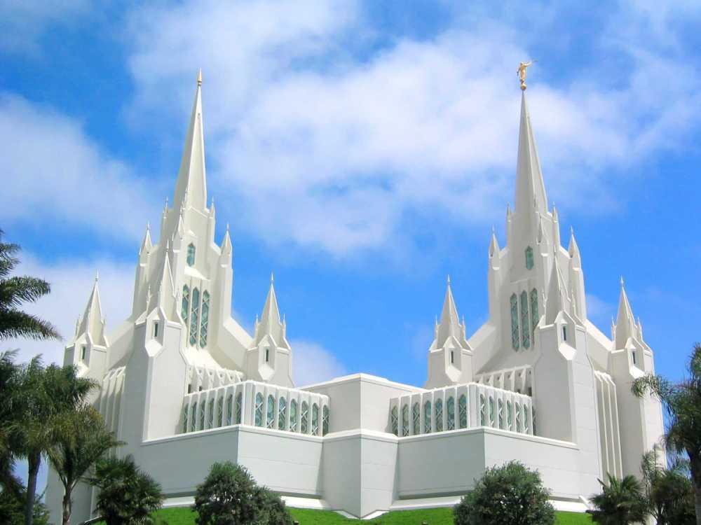 Мормонский храм