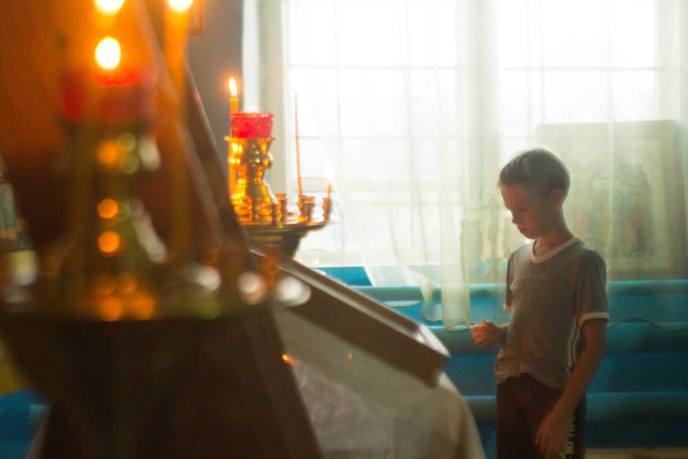 Миссионерский крестный ход 2018, Багаряк, Всенощное бдение, 8 августа 2018 года