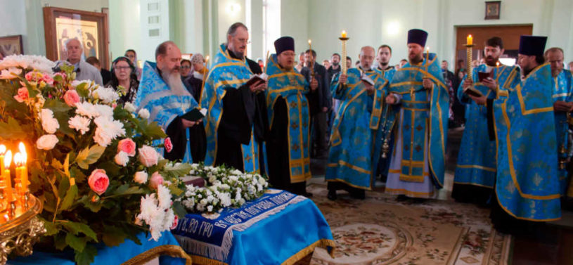 Храм преп. Сергия Радонежского, богослужение
