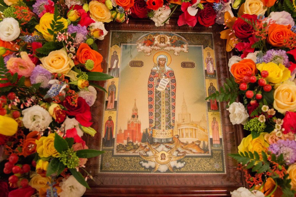 Икона святой мученицы Татианы «Университетская»