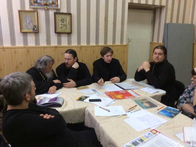 Собрание в Миасско-сельском благочинии