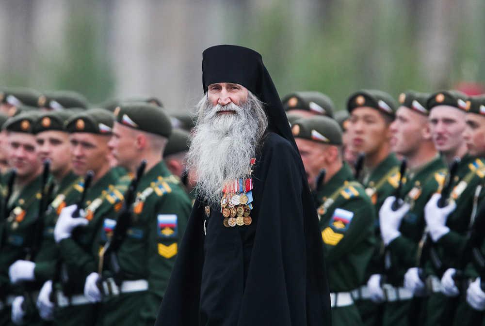 Монах Киприан Бурков