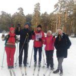 Тамара Журавлева, лыжники